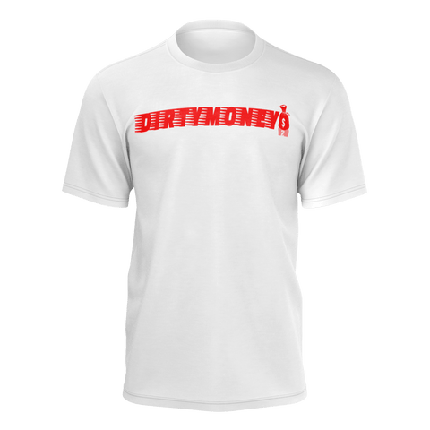 DIRTYMONEY MBF TEE RED/WHITE
