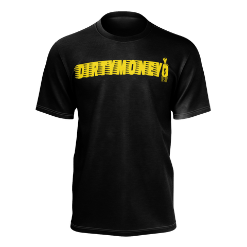 DIRTYMONEY MBF TEE BLACK/YELLOW