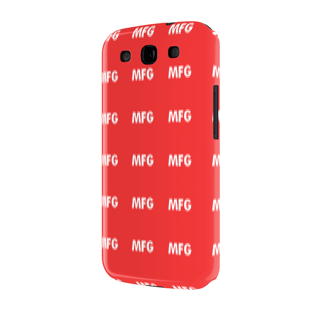MFG Repeat (small) Samsung Galaxy S3 Slim Case