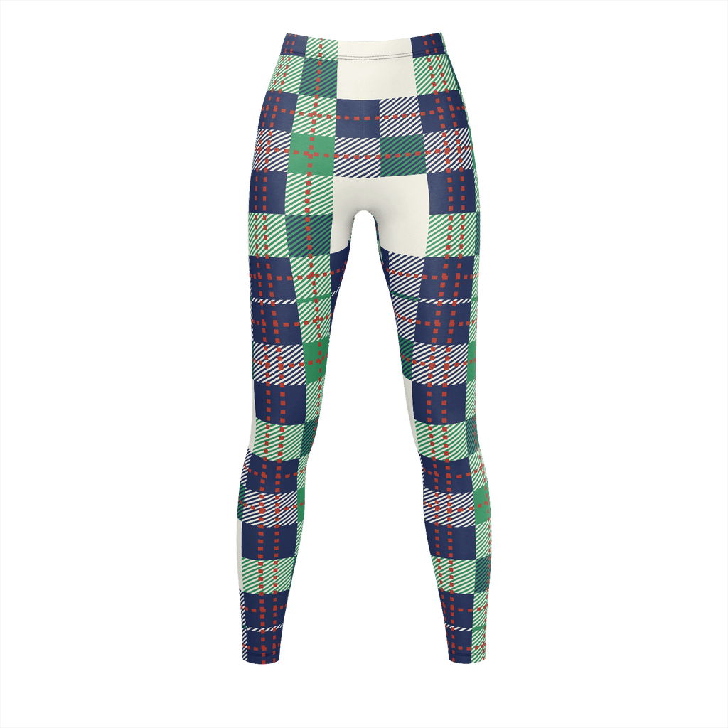 Plaid Green And Blue Lumberjack Flannel