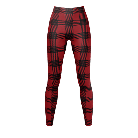Red And Black Lumberjack Flannel Pattern