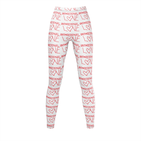 UNCONDITIONAL LOVE LEGGINGS WOMENS