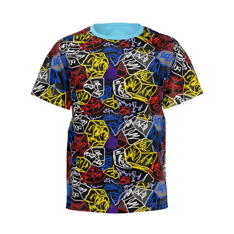 *Limited*Multi Coloured T-Shirt (Kids/Men Only) All Sizes