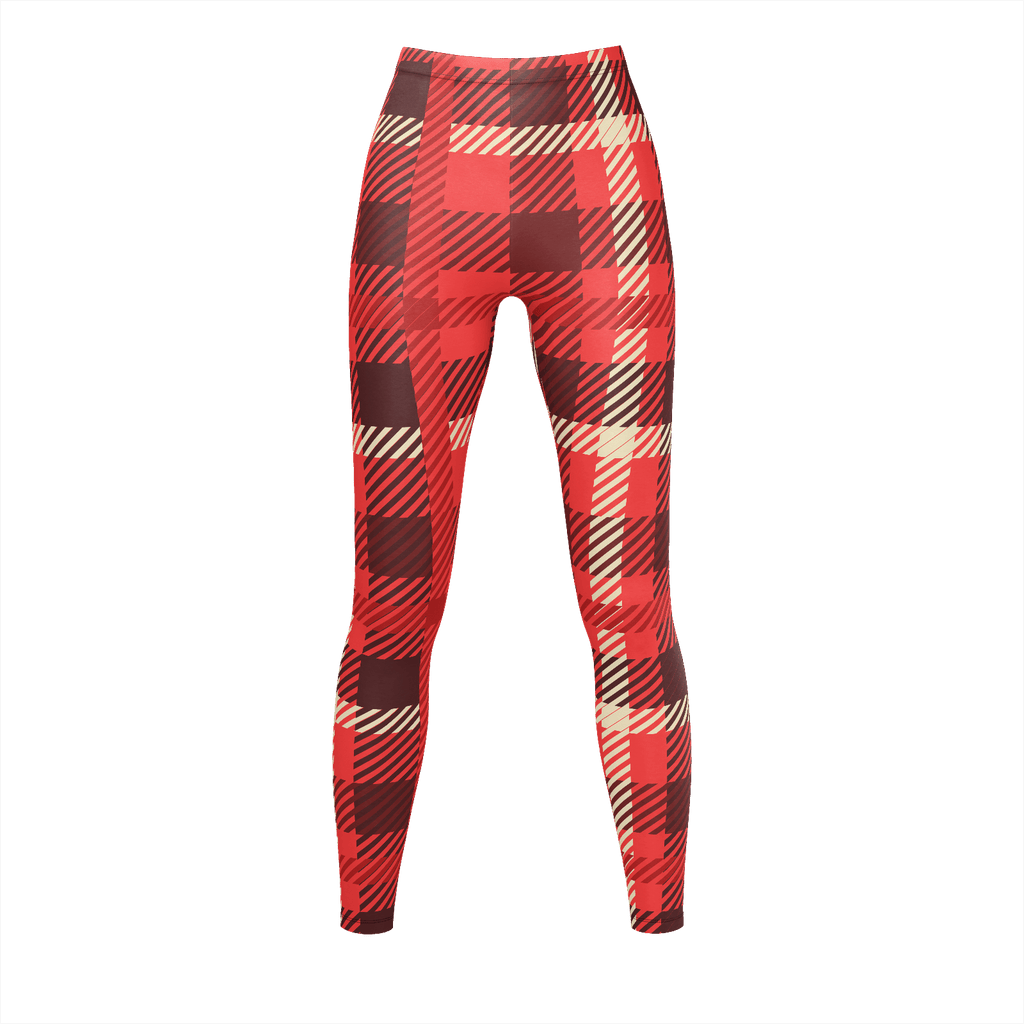 Plaid Red White And Black Flannel