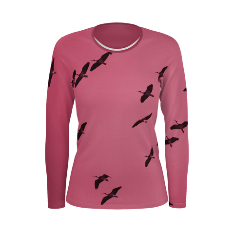 IbisSky Pink Long Sleeve Top