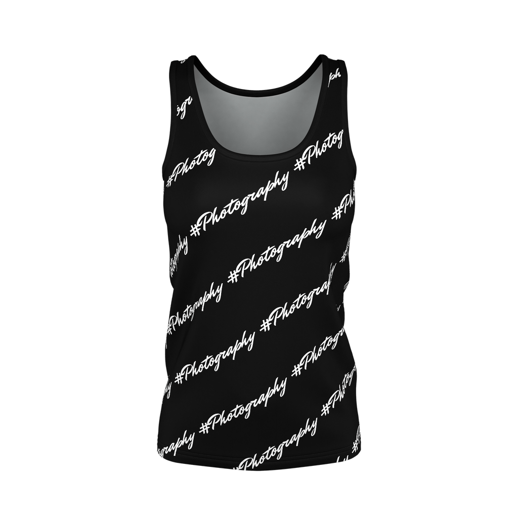 #Photography Women's SJ Tank Top (Black)