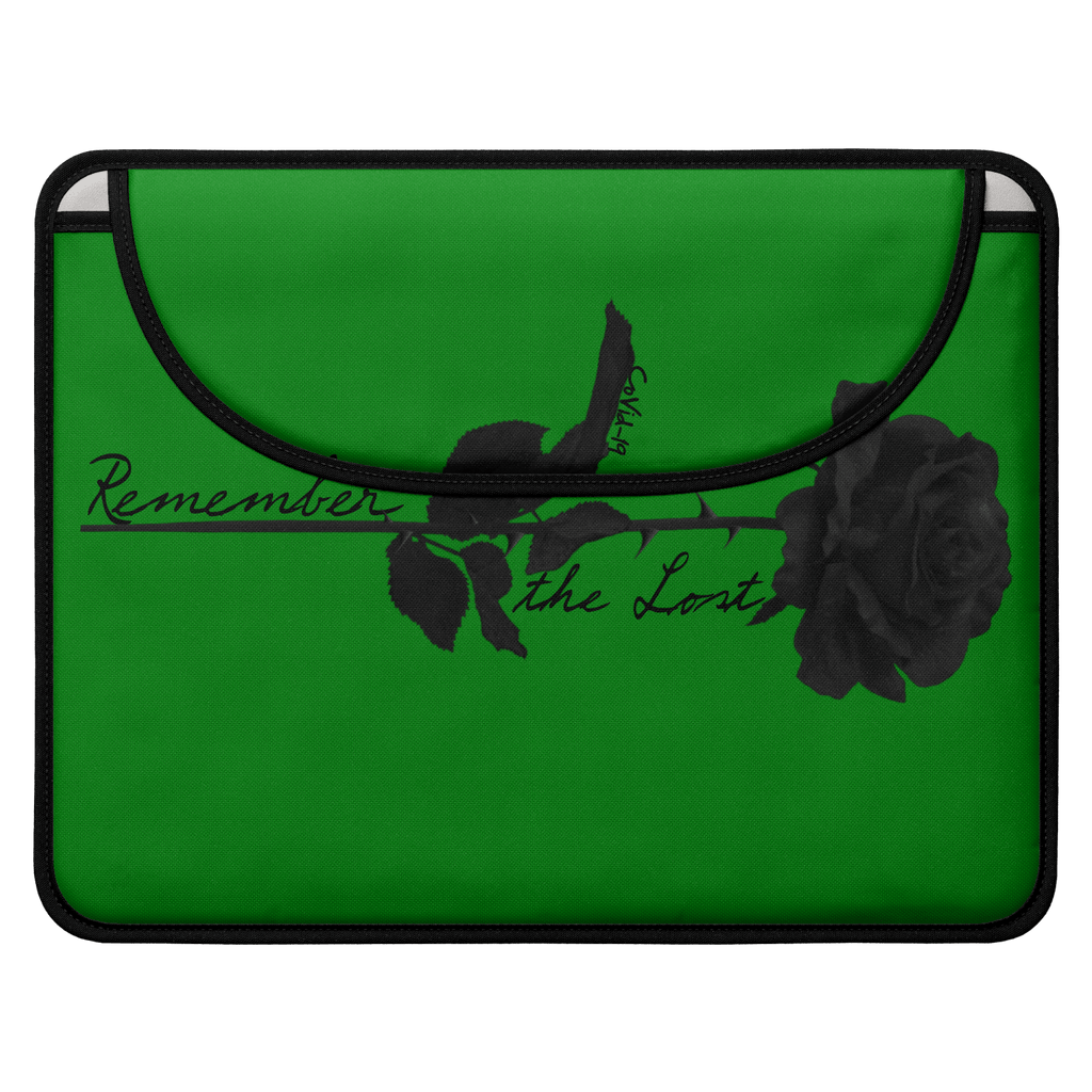 Remember the Lost Envelope Laptop Sleeve (Green)
