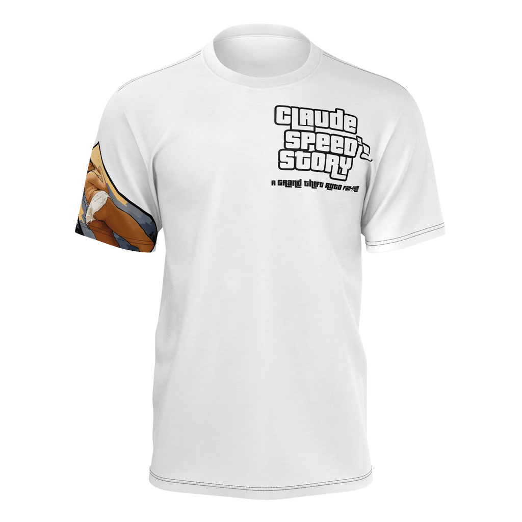 Claude Speed's Story Story T-Shirt (Polyester)