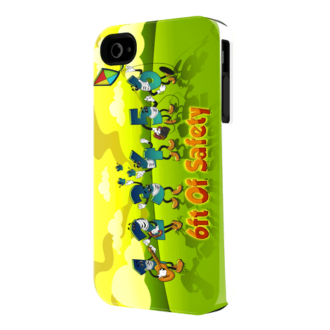 6 Feet of Safety - iPhone 4 Case