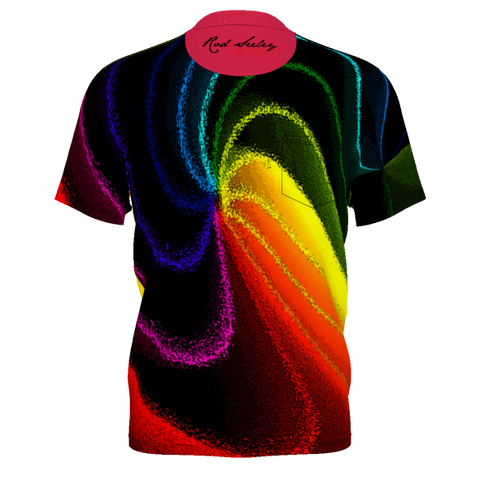 COLOR SWIRL - Men's Pocket Tee