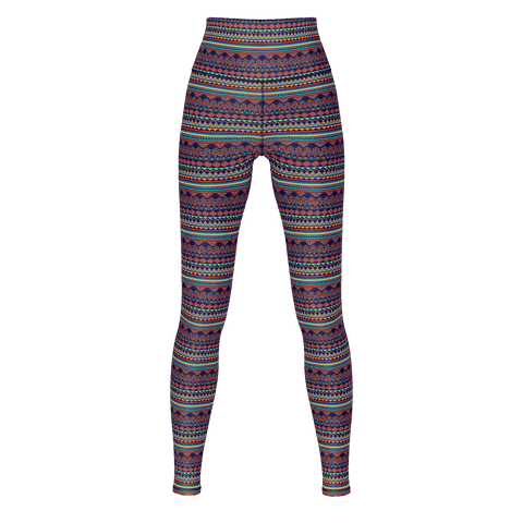 Ancient Tribal Yoga Pants