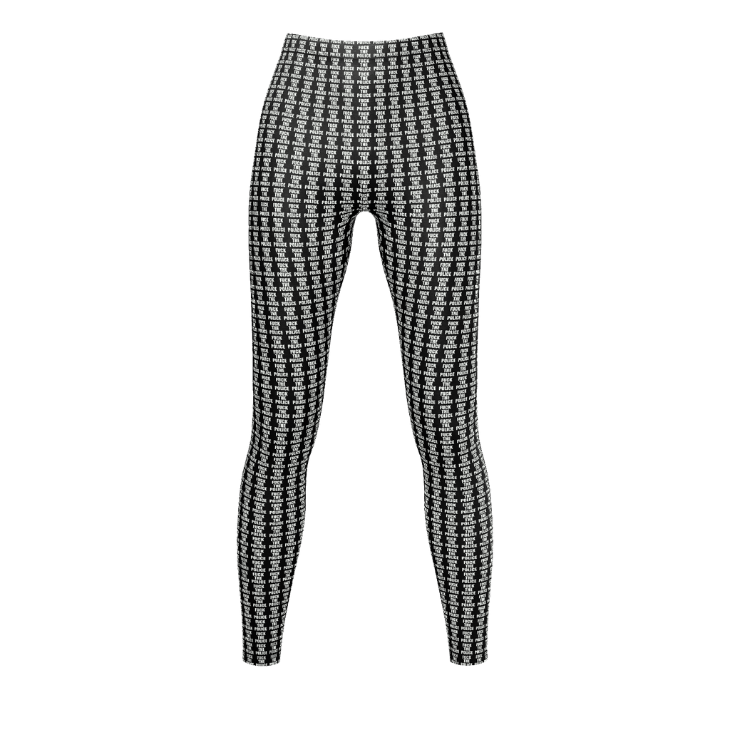 FTP (Fuck The Police) LEGGINGS Art-Wear by BeckWerks