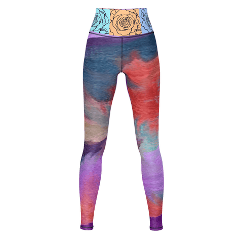 BE ART La Rosa Yoga Pants