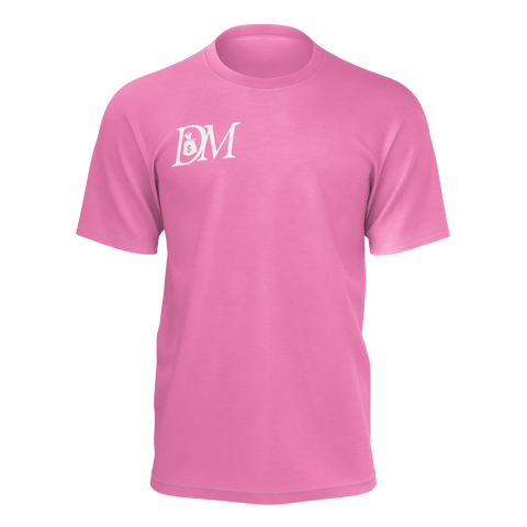 DIRTYMONEY LOGO TEE PINK/WHITE