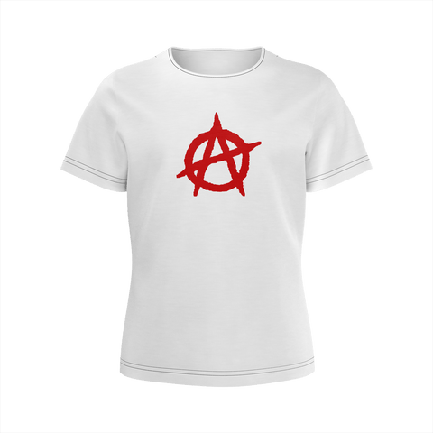 white anarchy shirt