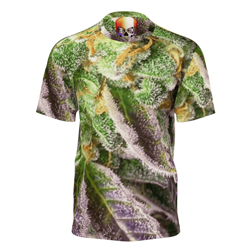 NEW! REAL PURPLE BUDs  CAMO T-SHIRT MENS NEW!