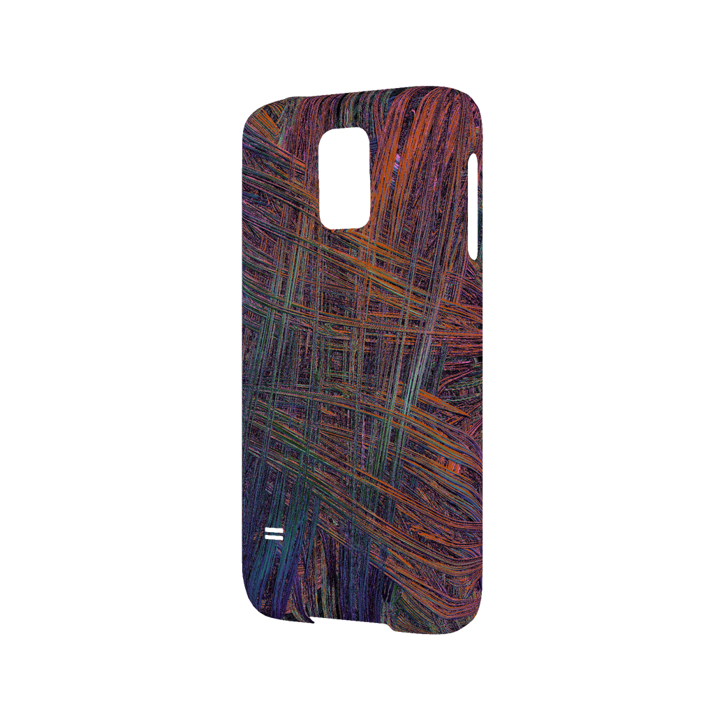 Colorful Crosshatch Samsung Galaxy S5 Slim Case