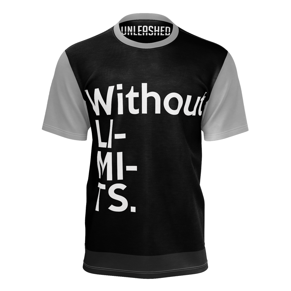MEN'S-TSHIRT WITHOUT LIMITS