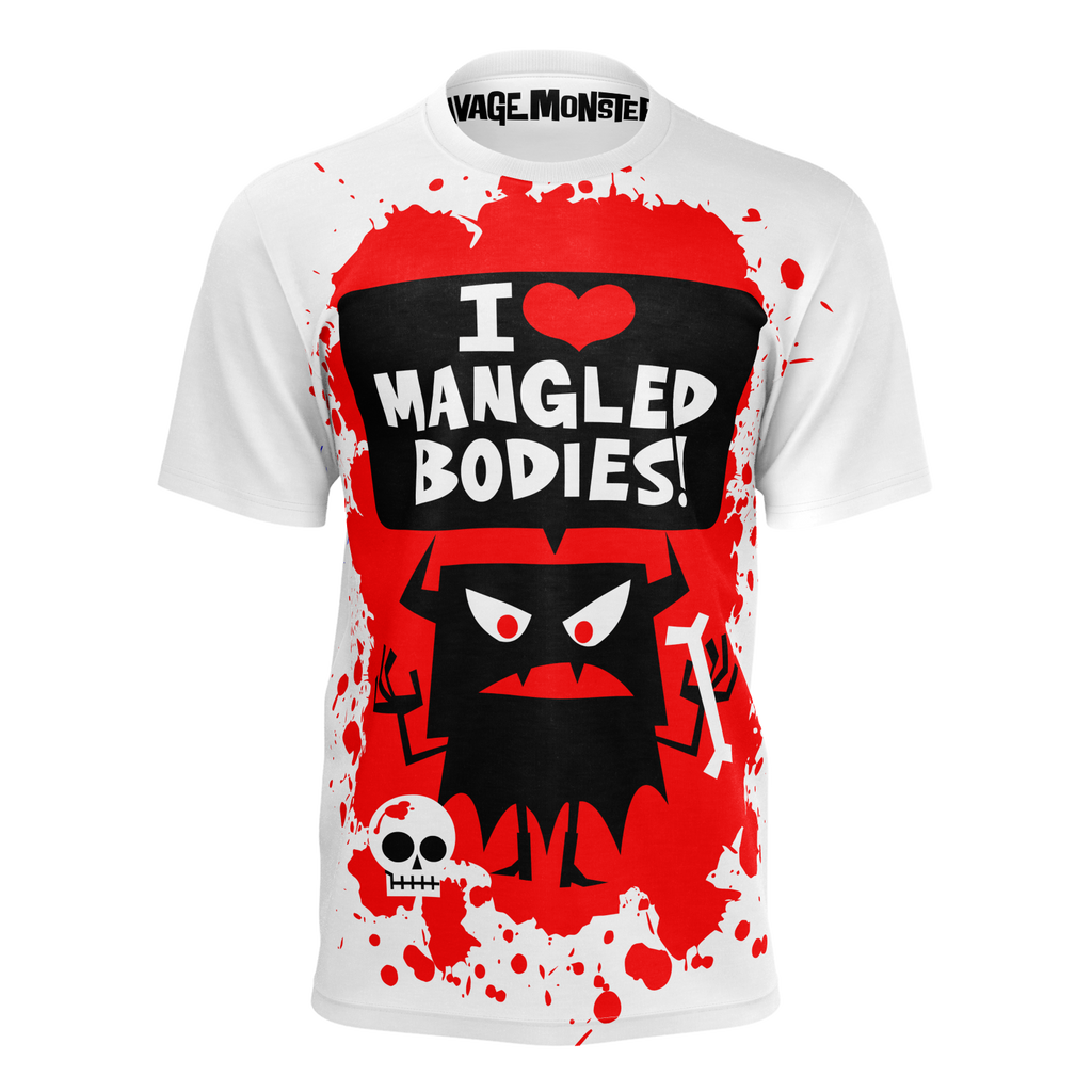 I Love Mangled Bodies - White