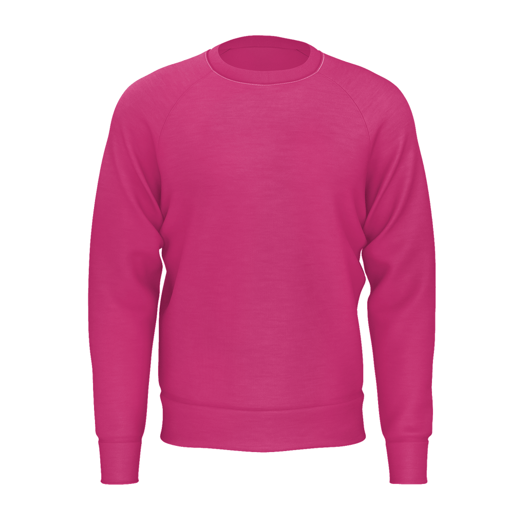 Beetroot Purple Men's Raglan Sweatshirt