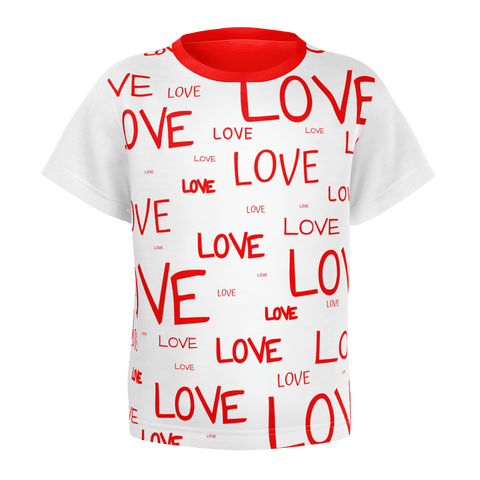LOTS OF LOVE. Toddler T-shirt