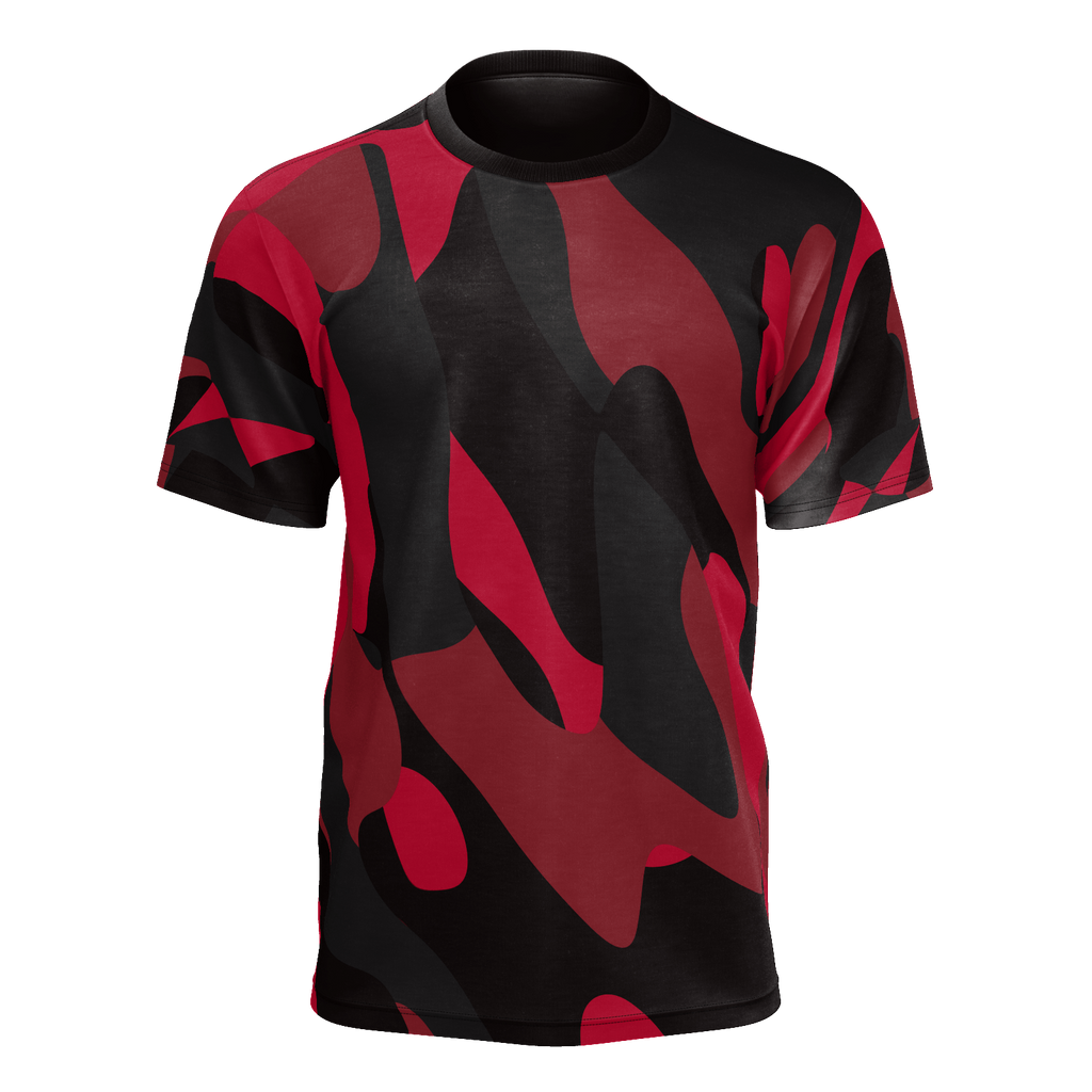Cherry Camo Abstract