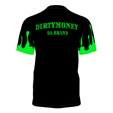 DIRTYMONEY DRIP TEE Black/Green