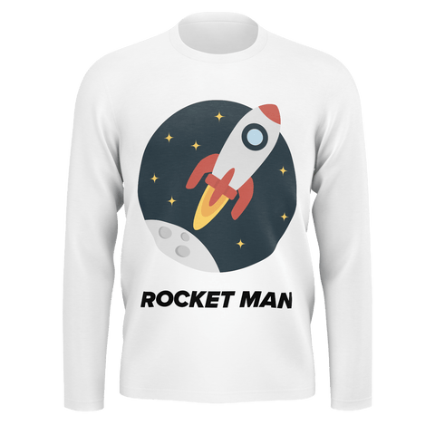 Rocket Man Long Sleeve