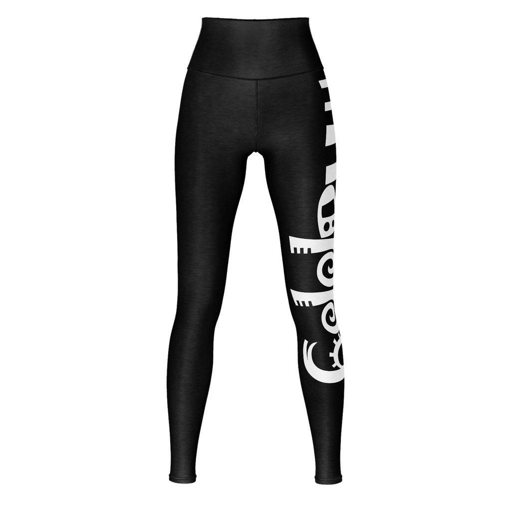 #Happy Yoga Pants (Black)