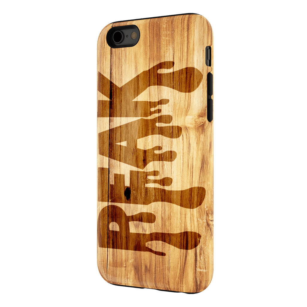 Wooden Design Peak iPhone 6 Tough Case