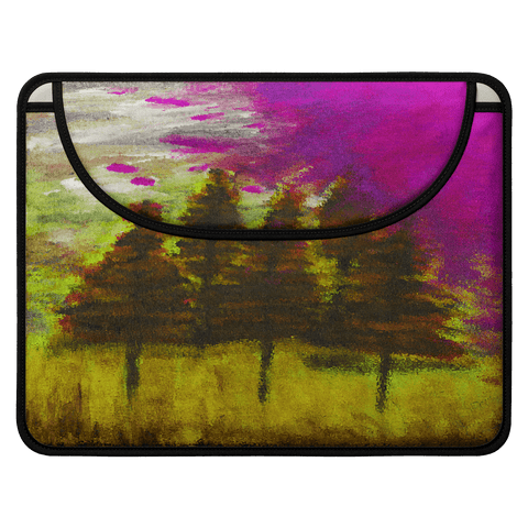 Yellow Forest Envelope Laptop Sleeve