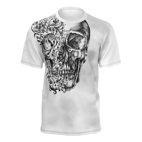 """Don't Think Just Do"" T-Shirt For Men (Skull Edition)"