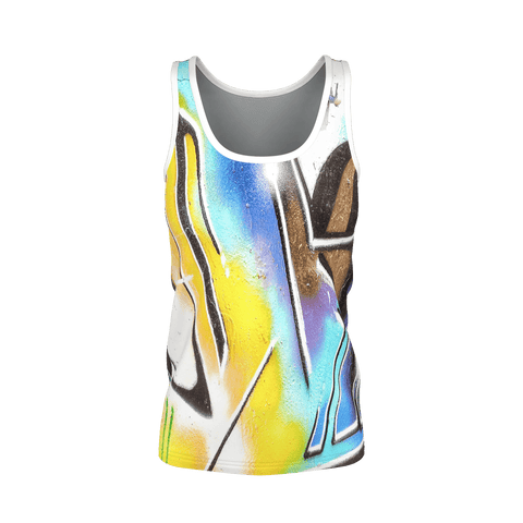 WLDR Ladies GRAFFITI VEST 1