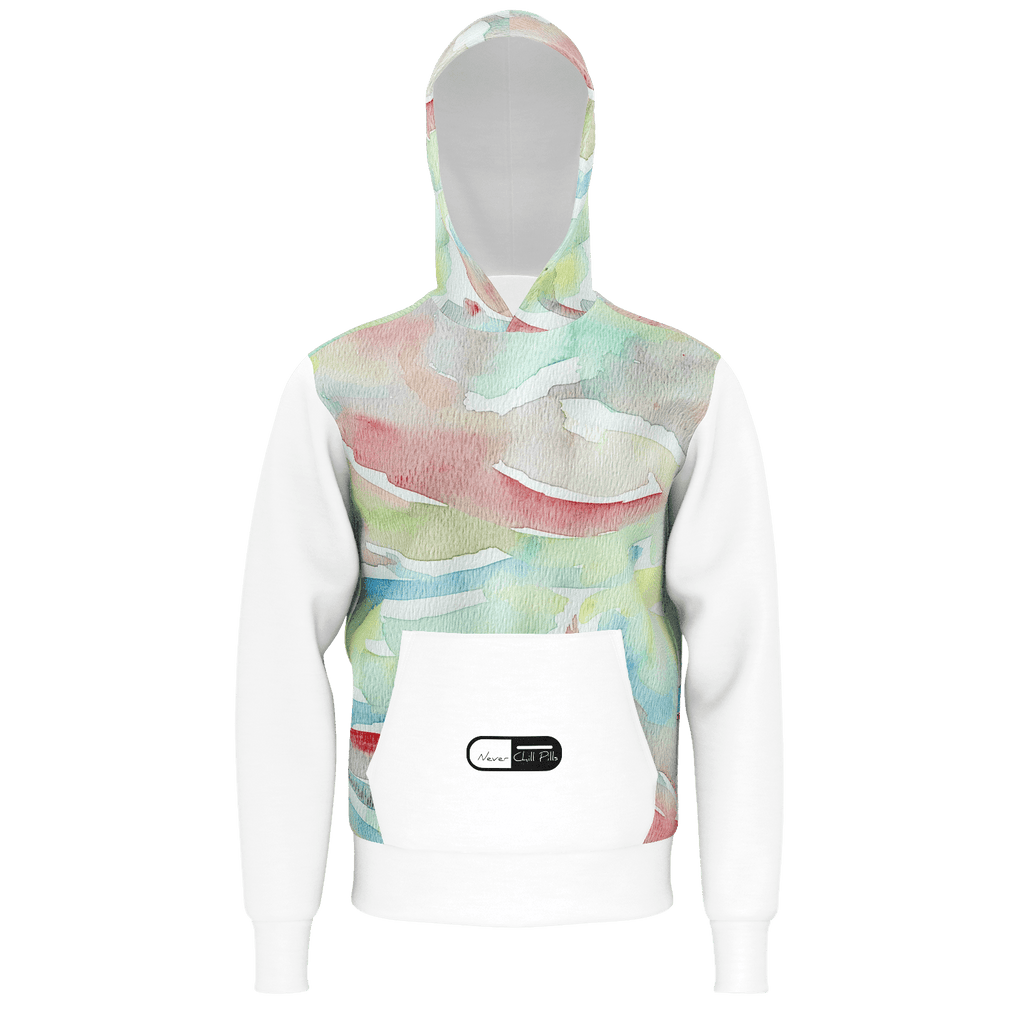 Never Chill Pills -  Water Color Body Sweatshirt