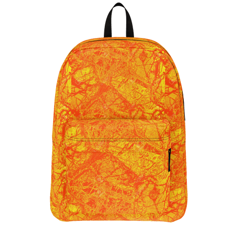 orange sherbert backpack