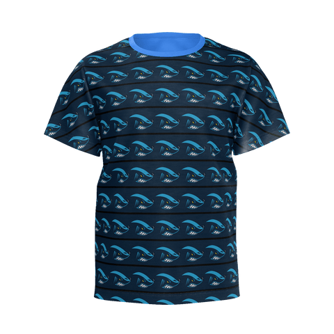 Sharkey gaming kids shirt