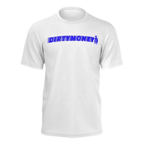 DIRTYMONEY MBF TEE WHITE/BLUE