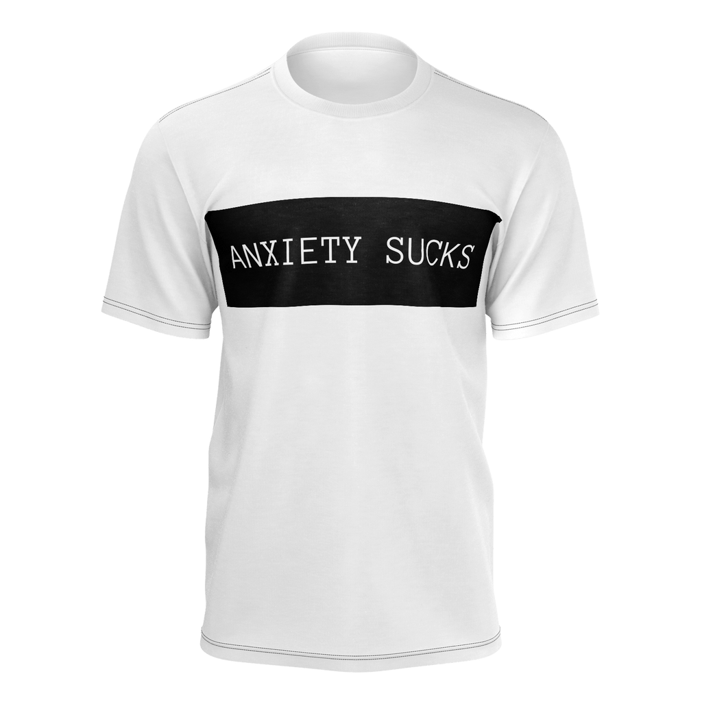 Anxiety Sucks Men's T-shirt