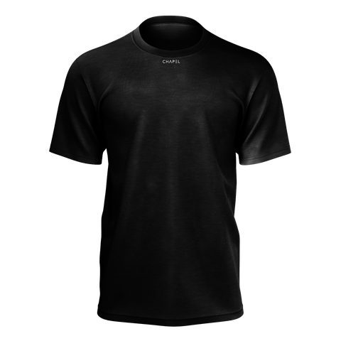 Plus One Black Mens T-Shirt