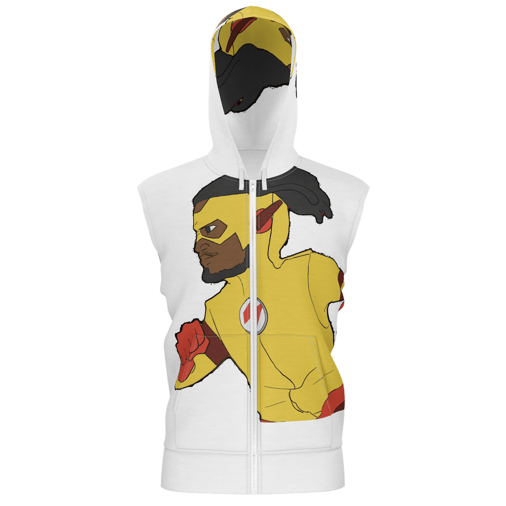 Flash Sleevless Hoodie