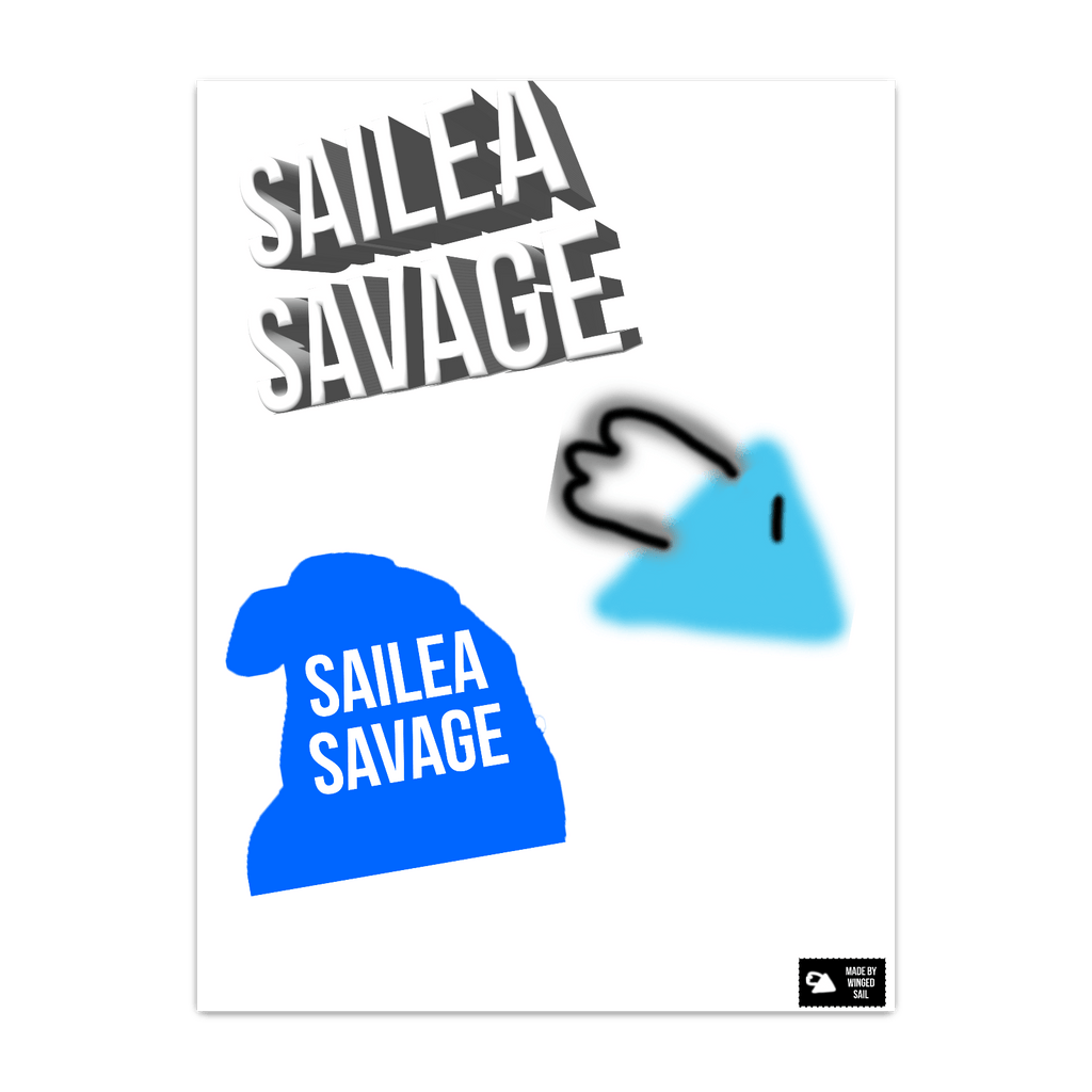 Sailea Savage Logo Poster
