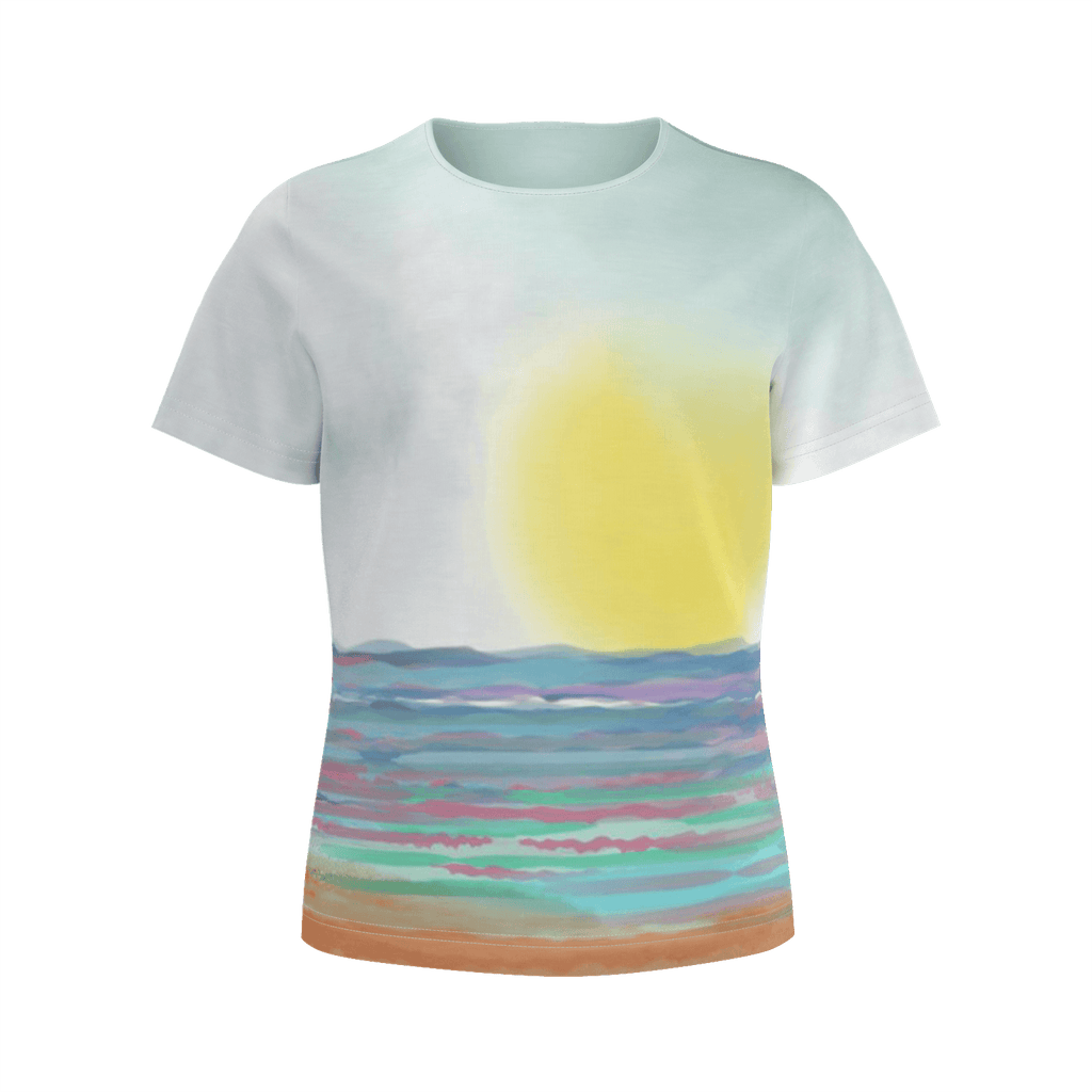 Girls Beach Tee By Bridgette Edmond