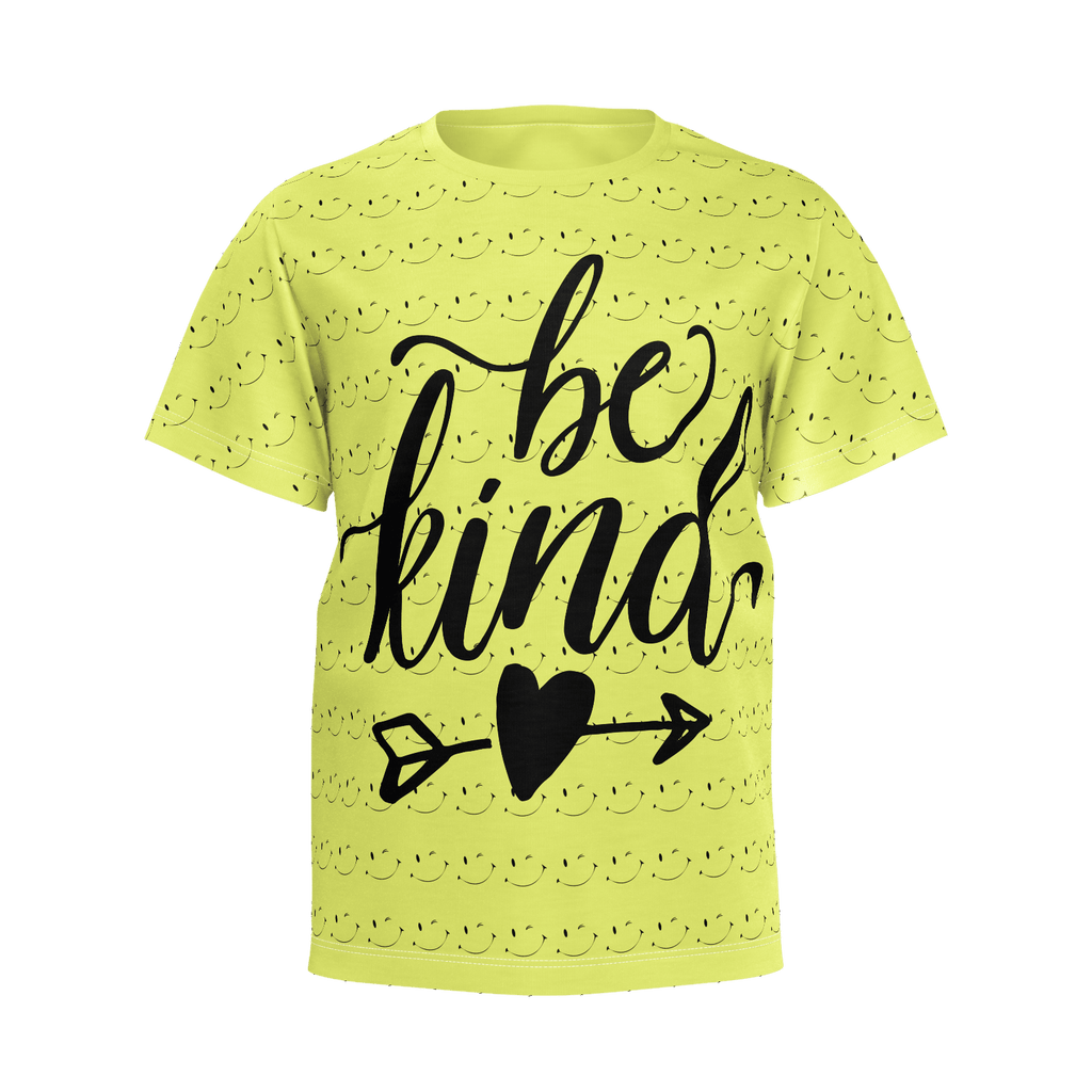 Boys Pima Interlock T-Shirt BE KIND