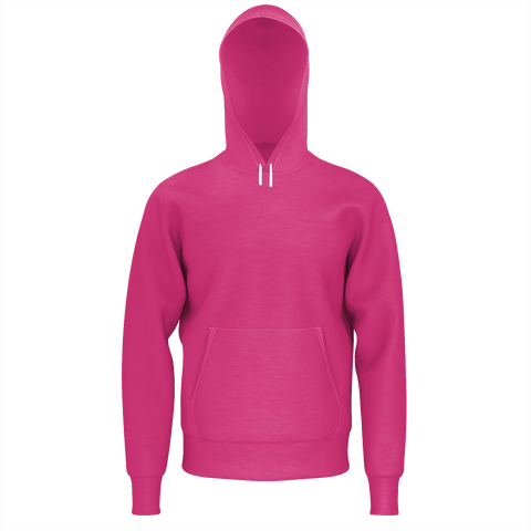 Beetroot Purple 350GSM Men's Set-In Pullover 2PC Hood With Lining