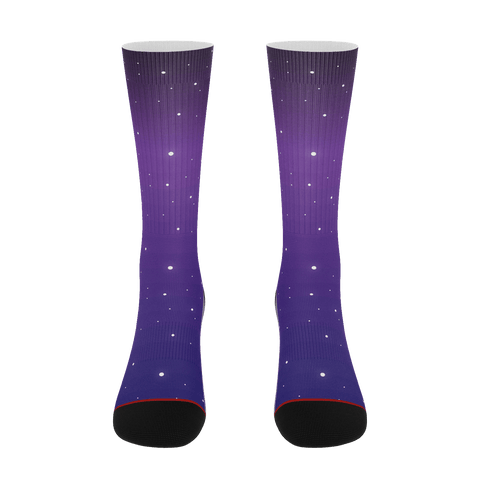 Purple Night Socks