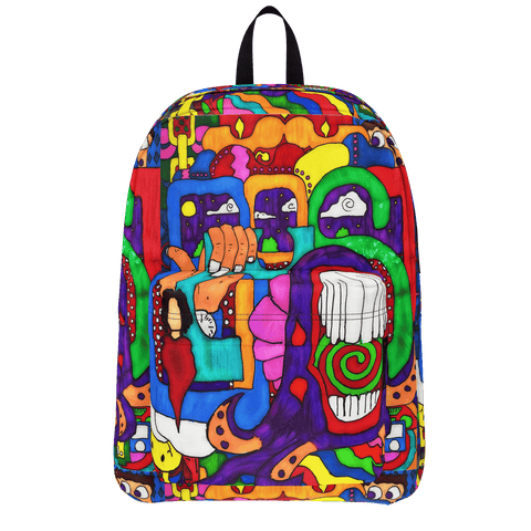 "Psychedelic ""Groovy"" Backpack"