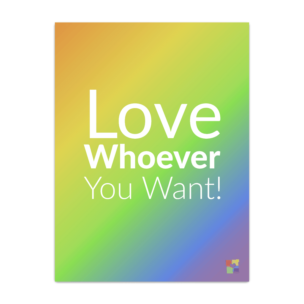 """Love Whoever You Want (2018)"" Poster"