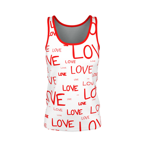 LOTS OF LOVE, Woman's Tank Top.