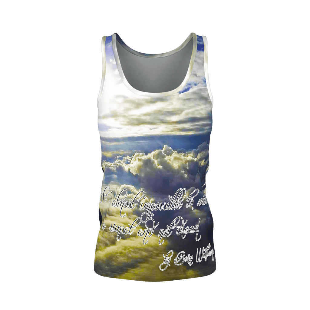 Above the Clouds (Quote) Women's SJ Tank Top