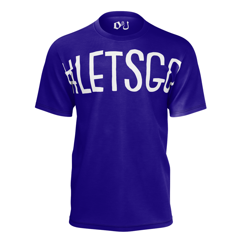 #LetsGo Men's T-Shirt (Blue)